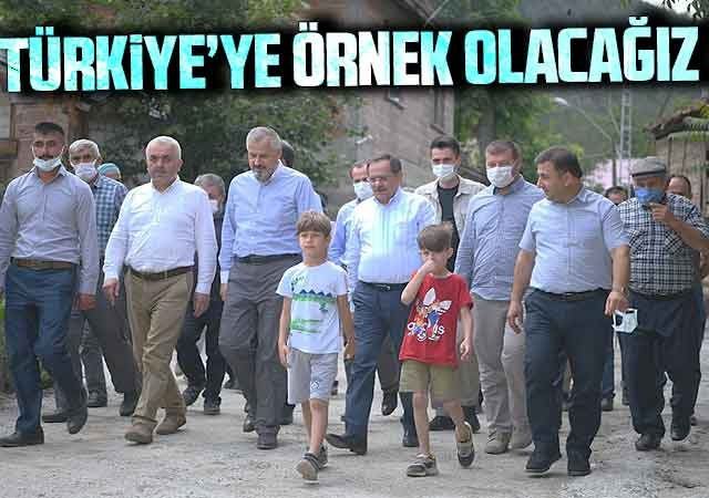 Başkan Demir : Türkiye'ye örnek olacağız