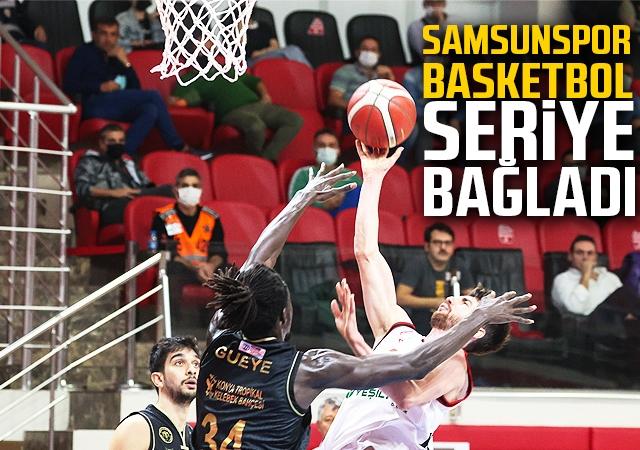 Samsunspor Basketbol Seriye Bağladı