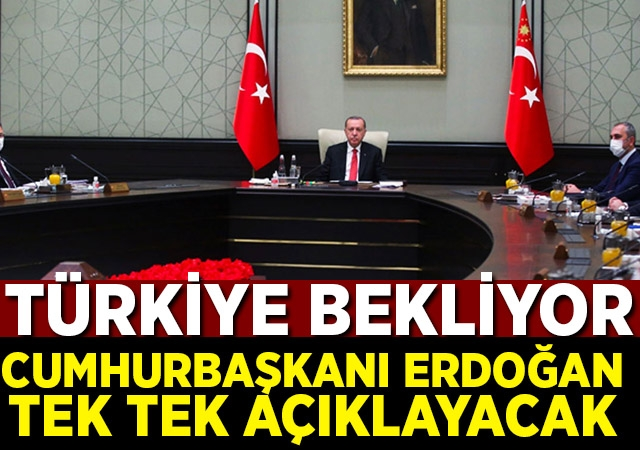 Türkiye'nin beklediği kabine toplantısı başladı