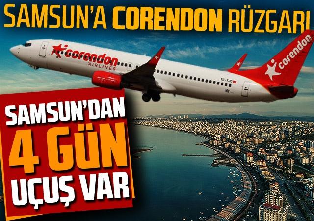 Samsun'da CORENDON Airlenes Rüzgarı Esecek
