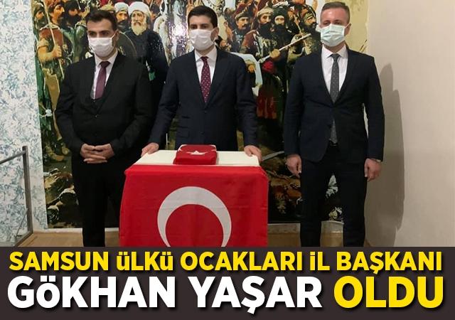Samsun Ülkü Ocakları İl Başkanı Gökhan Yaşar oldu