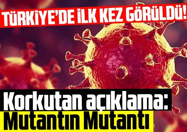 Türkiye'de ilk kez görüldü