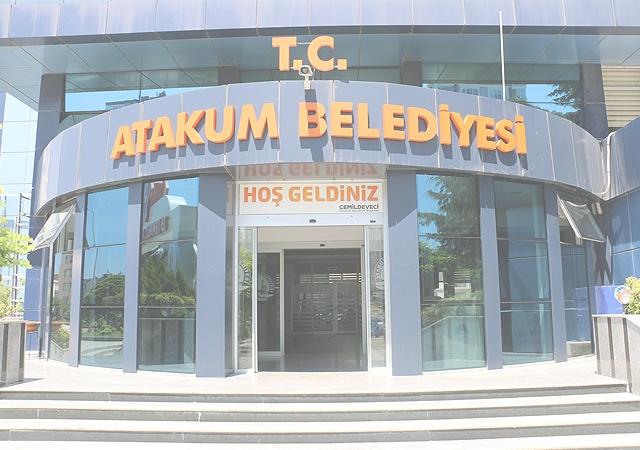 Atakum Belediyesi'nin   banka hesaplarına haciz