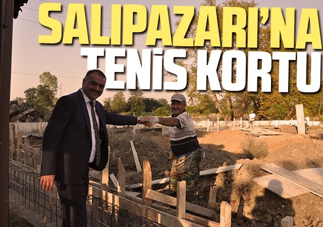Salıpazarı'na Tenis Kortu