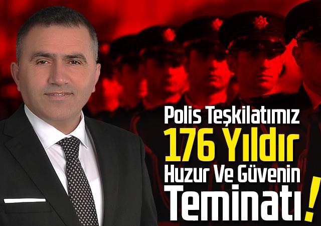 Mucur, 'Polis Teşkilatımız 176 Yıldır Huzur Ve Güvenin Teminatı'!