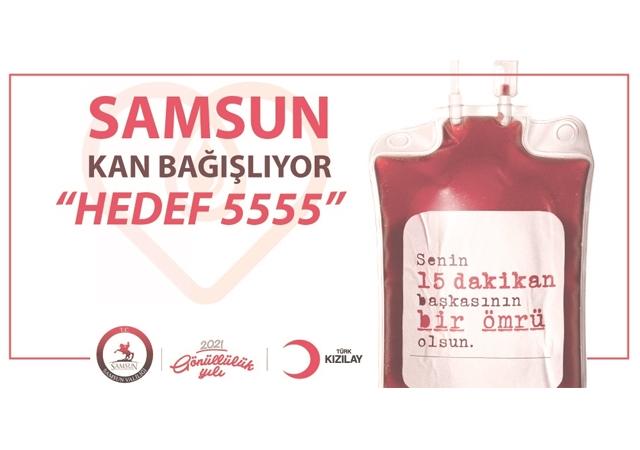 Hedef 5555 Kan Bağışı