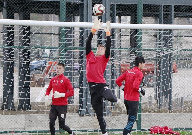 Yılport Samsunspor U19 Maçı Hazırlıklarına Devamediyor