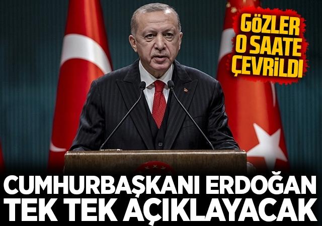 Cumhurbaşkanı Erdoğan, Ekonomik Reform Paketi'ni bugün açıklayacak