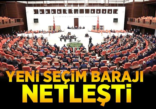 AK Parti'nin yeni seçim yasası hazır!