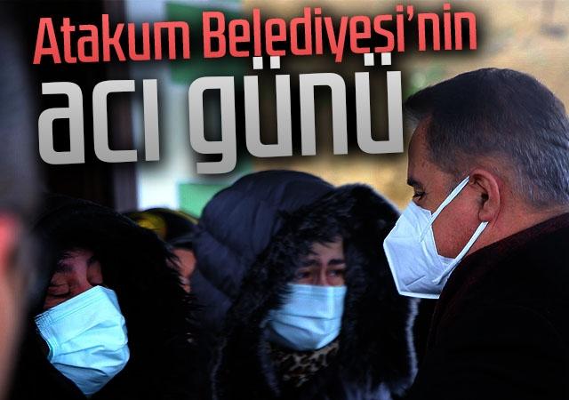 Atakum Belediyesi personeli son yolculuğuna uğurlandı