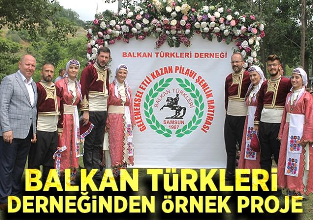 Balkan Türkleri Derneğinden Atalarımın Dansı Projesi