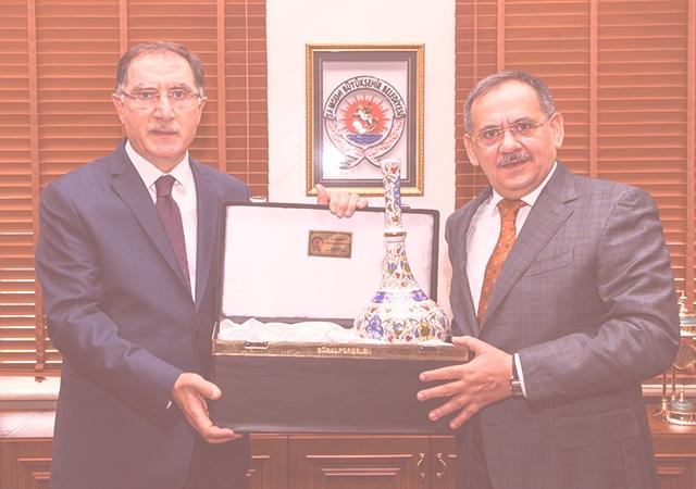 Kamu Başdenetçisi Malkoç'tan Büyükşehir'e ziyaret