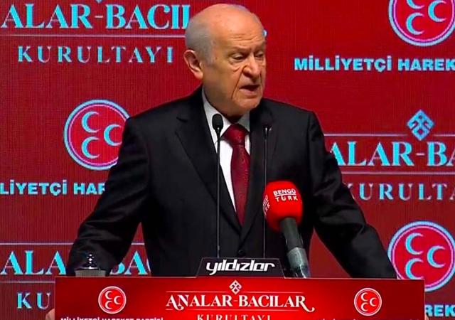 MHP Lideri Bahçeli: Anaların nefesi PKK'nın ensesindir