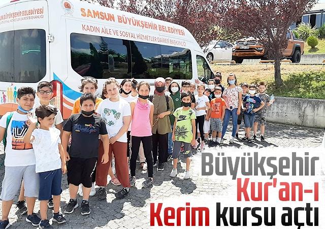 Büyükşehir Kur'an-ı Kerim kursu açtı