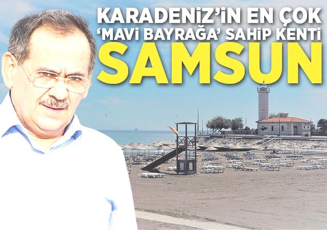 Karadeniz'in en çok 'Mavi Bayrağa' sahip kenti Samsun