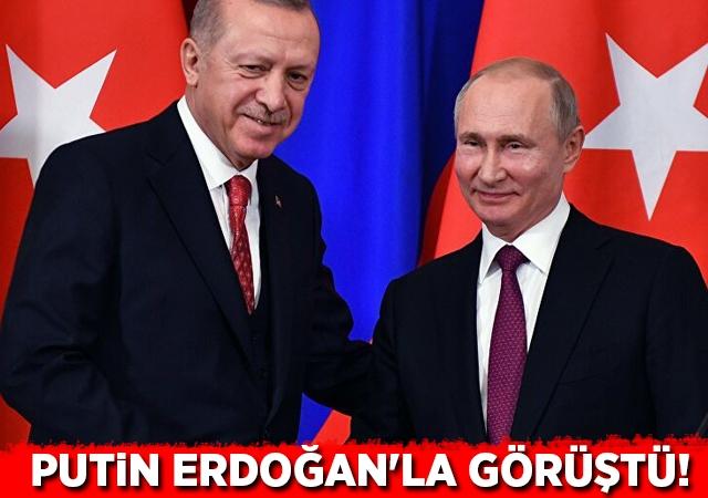 Putin, Erdoğan'la Ukrayna krizini görüştü!