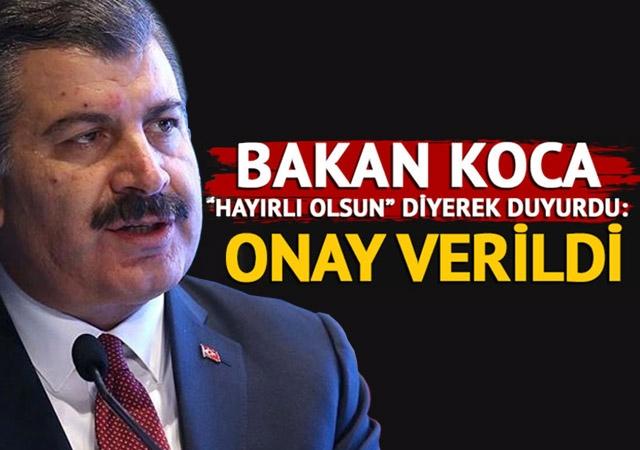 Türkiye, Sputnik V aşısına acil kullanım onayı verdi