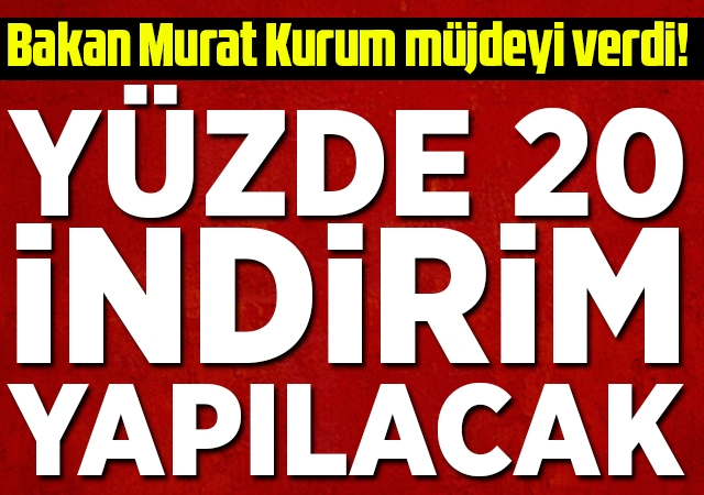 Bakan Murat Kurum müjdeyi verdi! TOKİ taksit ödemelerinde yüzde 20 indirim