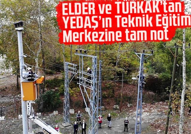ELDER ve TÜRKAK'tan YEDAŞ'ın Teknik Eğitim Merkezine tam not
