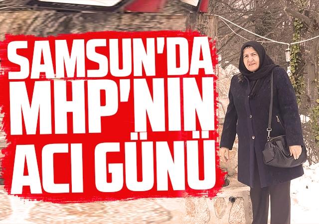 Samsun'da MHP'nin acı günü