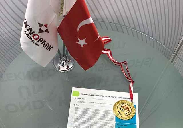Uluslararası Buluş Fuarında Büyük Ödül ve Altın Madalya OMÜ'nün