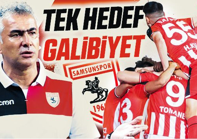Yılport Samsunspor'da Tek Hedef Galibiyet