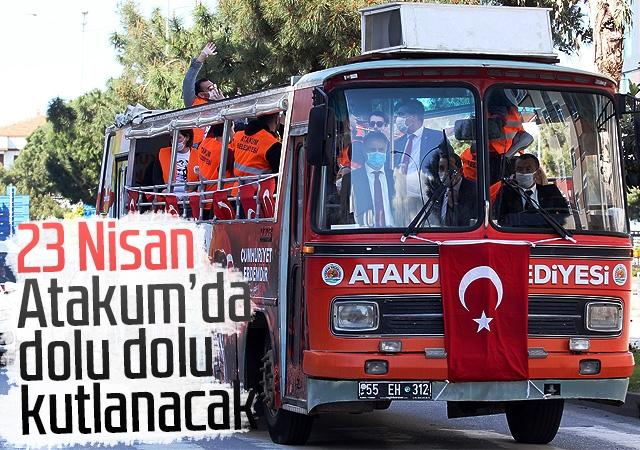 Atakum Belediyesi'nden coşku dolu 23 Nisan programı