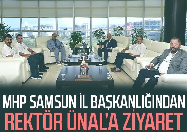 MHP Samsun İl Başkanlığından Rektör Ünal'a Ziyaret