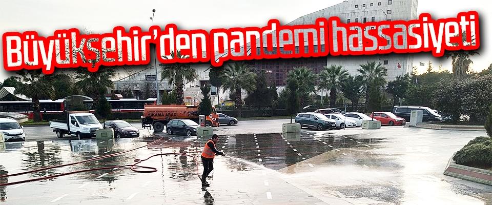Büyükşehir'den pandemi hassasiyeti