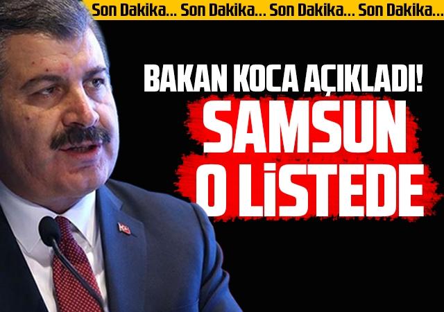 Sağlık Bakanı Fahrettin Koca, il il açıkladı! İşte Vaka Sayısı En Çok Artan İller