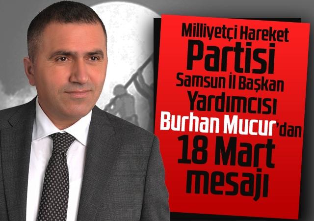 Burhan Mucur'dan 18 Mart Mesajı