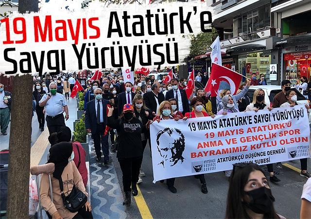 19 Mayıs Atatürk'e Saygı Yürüyüşü