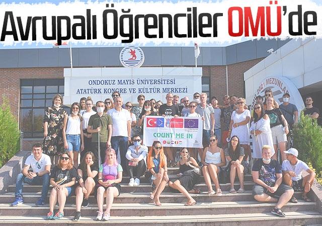 Avrupalı Öğrenciler OMÜ'de